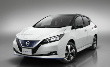Nissan turns over new Leaf
